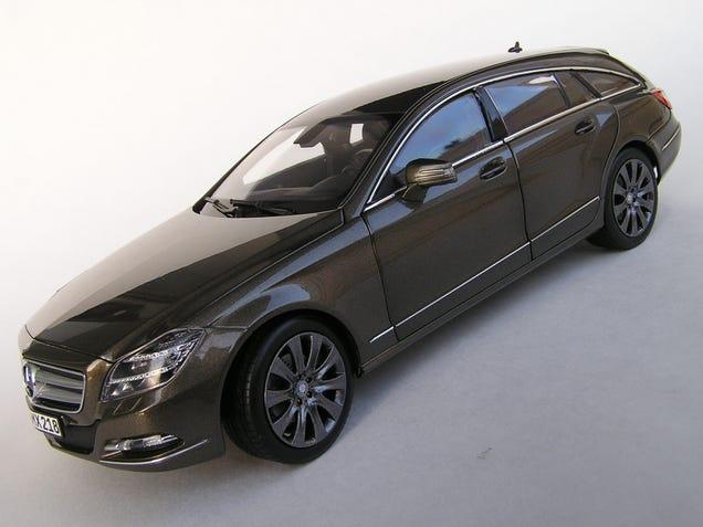 Wagon wednesday norev mercedes benz cls shooting brake for Mercedes benz cls wagon