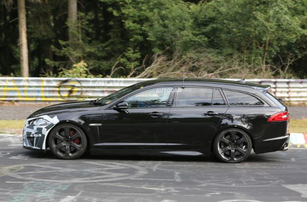 Jaguar XFR-S Sportbrake spotted testing at Nurburgring