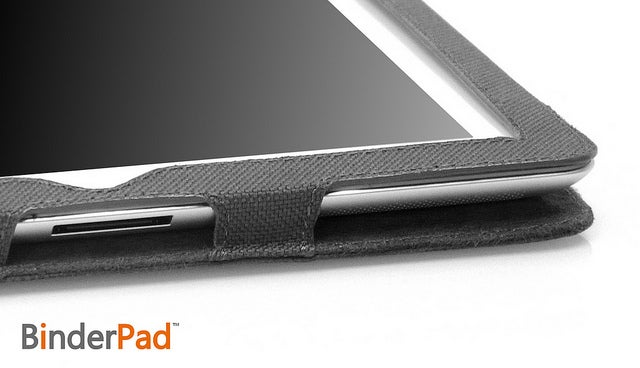 BinderPad Hides Your iPad Inside a 3 Ring Binder So You Can Secretly Use It in Class