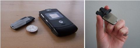 Wafer-thin MoGo Bluetooth Headset