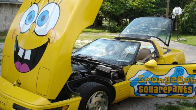Spongebob SquareVette may make you crabby