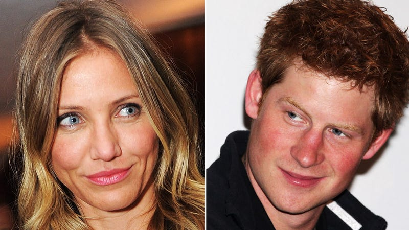 Prince Harry Sweats All Over Cameron Diaz, And Other Sexy Gross-Outs
