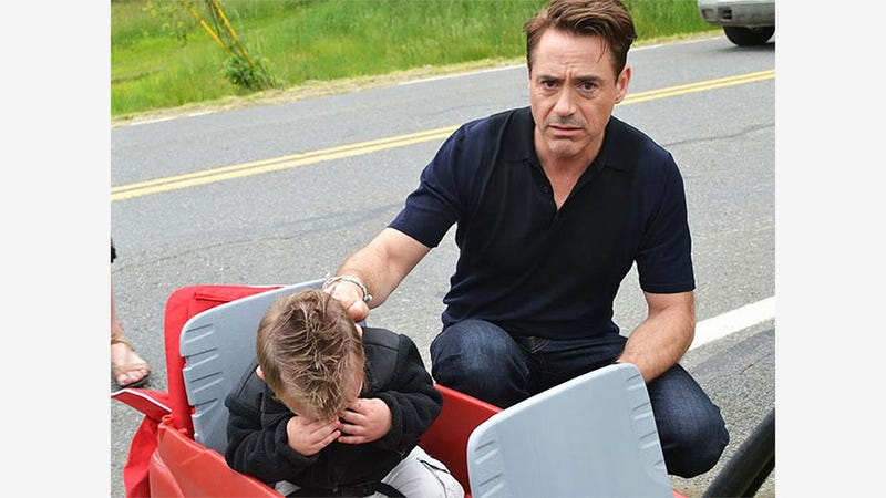 Boy Thinks He's Meeting Iron Man, Meets Actor Instead, Gets Very Sad