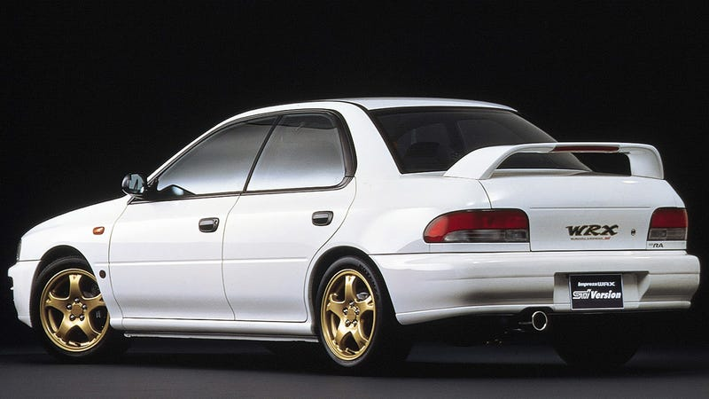A Brief History Of The Subaru WRX