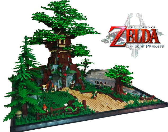 Big-Ass Zelda Castle Is The LEGO We Deserve, But Will Never Get