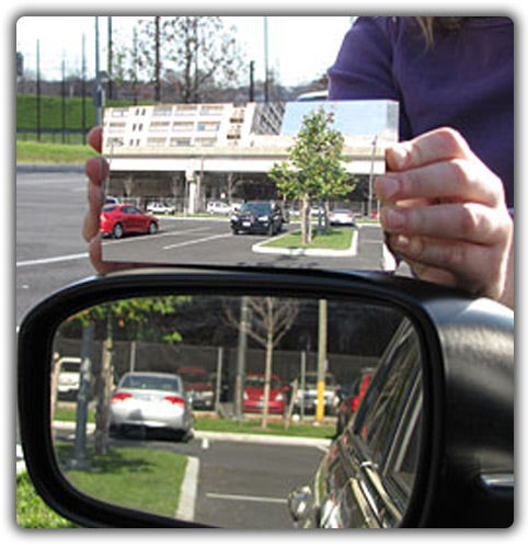 New Car Mirror Eliminates Blind Spots With Physics
