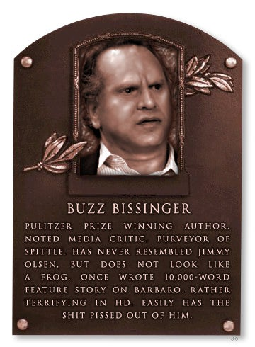 Buzz Bissinger Seems To Have Finally Spun Himself Out
