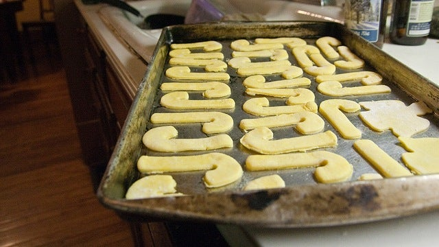 Run Your Baking Sheet Under Cold Water Between Batches to Avoid Burned Cookie Bottoms