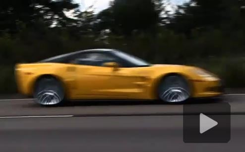 Corvette ZR1 Blitzes Europe With 190 MPH Autobahn Run