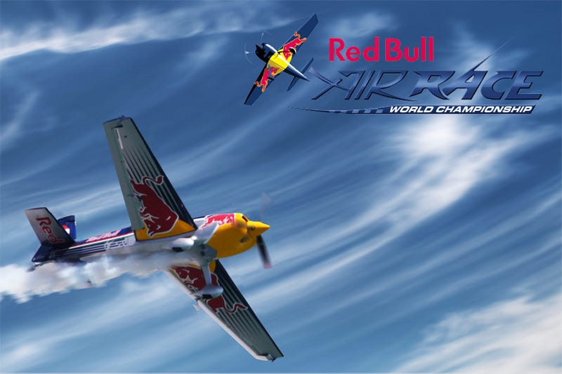 Red Bull Air Race Slips Caffeine Into Detroit River This Weekend