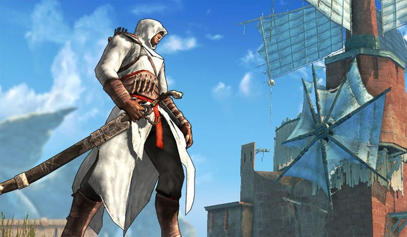 Waiter, There's An Altair In My Prince Of Persia