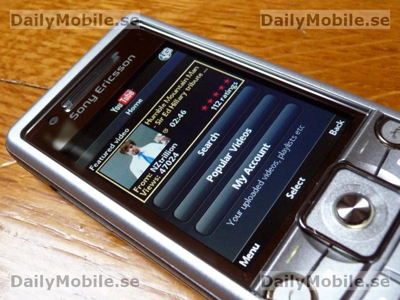 The First Good Look at Sony Ericsson's C510 (Kate) Cybershot Phone