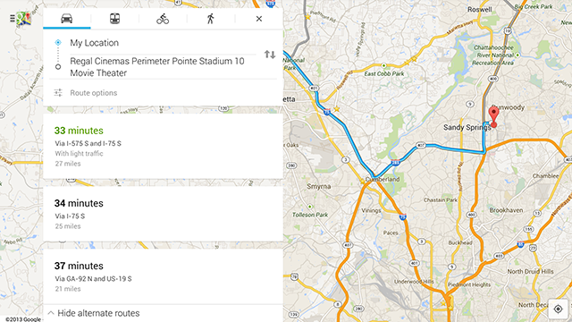 Google Maps Refreshes Its Android UI, Adds Traffic Reports and More