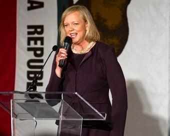 Meg Whitman Breaks Campaign Self-Financing Record
