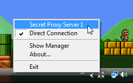 Proxy Switcher Quickly Changes Your Current Connection