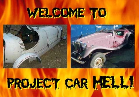 Project Car Hell, VW Kit Car Edition: MG TD or Bugatti?