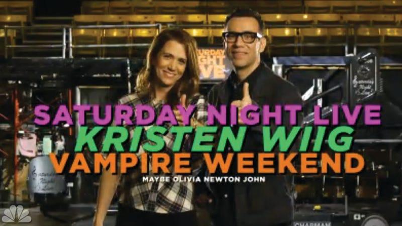 Kristen Wiig's Giddy SNL Promos Make It Feel Like She Never Left