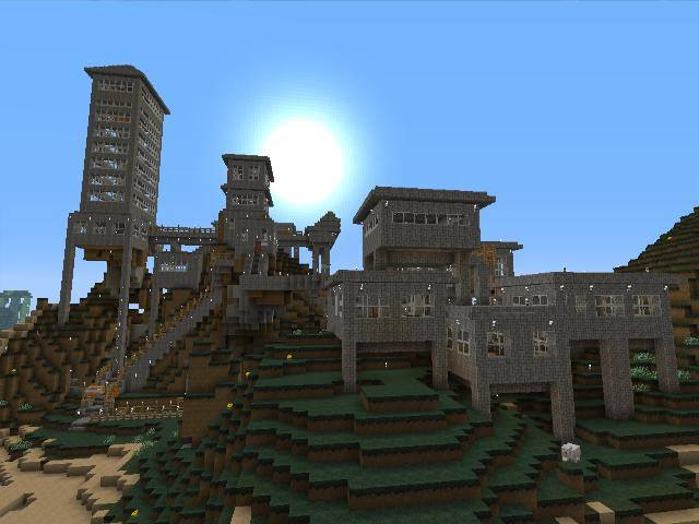 A couple other Opponauts and I made a Minecraft server.