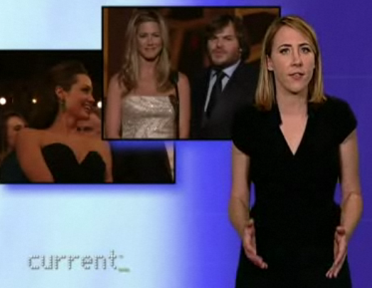 "Sarah Haskins Overwhelmed By Oscars ""Ex-Plosion"""