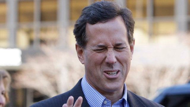 Before Rick Santorum Was a Raging Asshole, He Was Pro-Choice