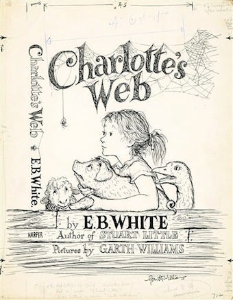 Original Charlotte's Web Cover Nets Six Figures At Auction