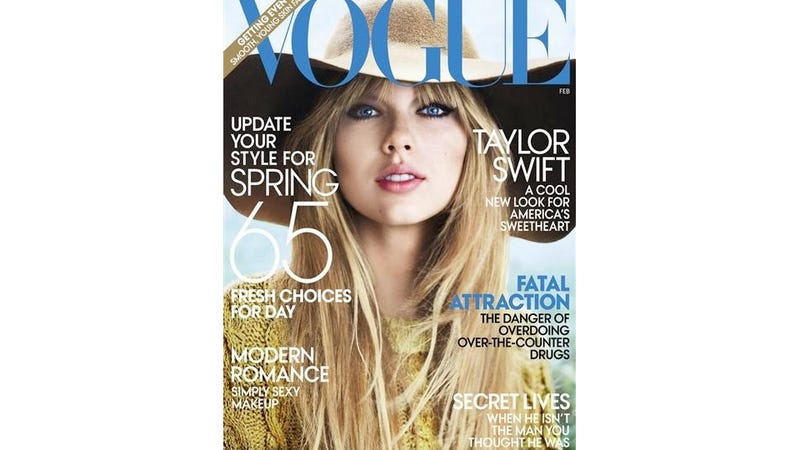 Taylor Swift Recites 'Honey Badger' for Vogue