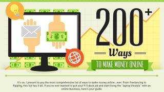 This Graphic Lists Over 200 Resources for Making Money Online