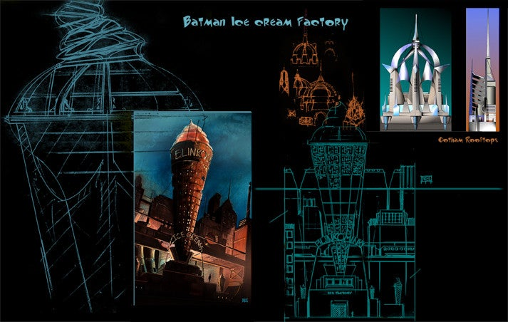 Amazingly Beautiful Advertisements for Gotham City's Weird Companies