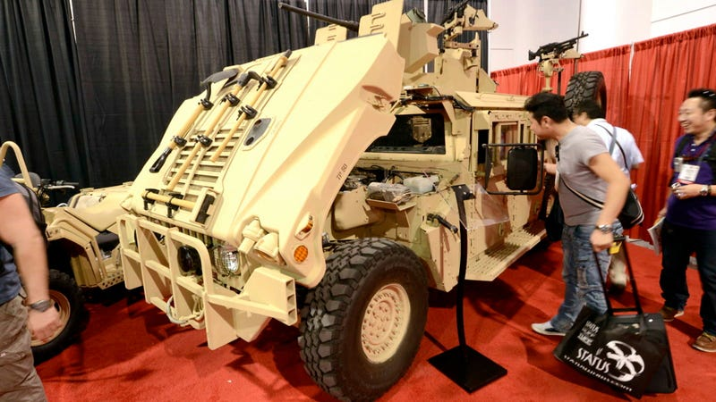 SEMA Is A Great Place To Gawk At Military Vehicles