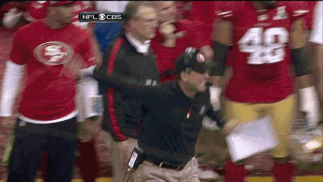 Jim Harbaugh Is Harbaughing Uncontrollably