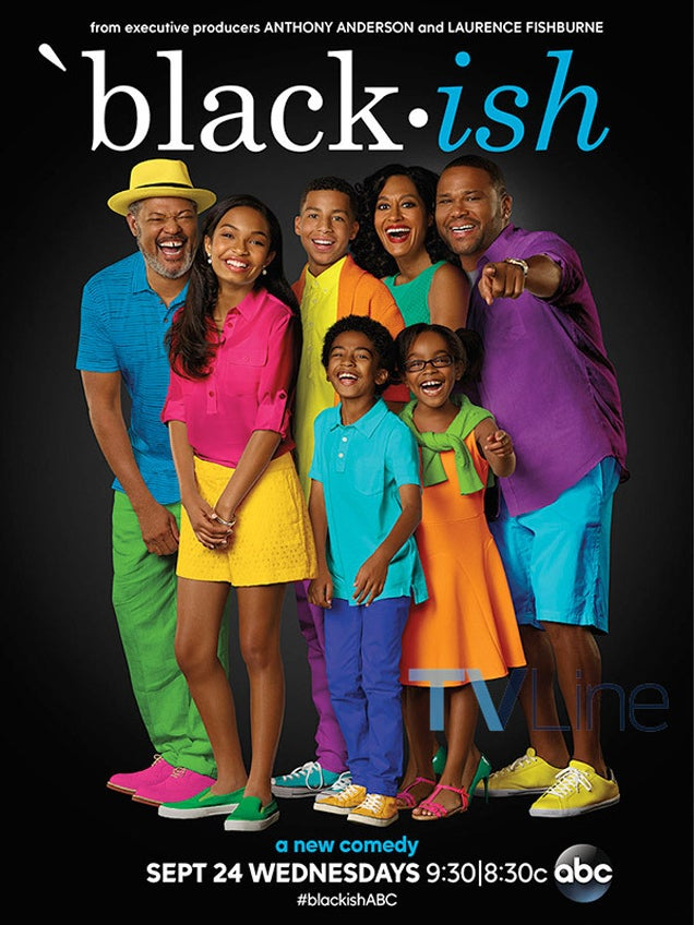 New Promo for TV Show Black-Ish Is, Uh, Very Colorful