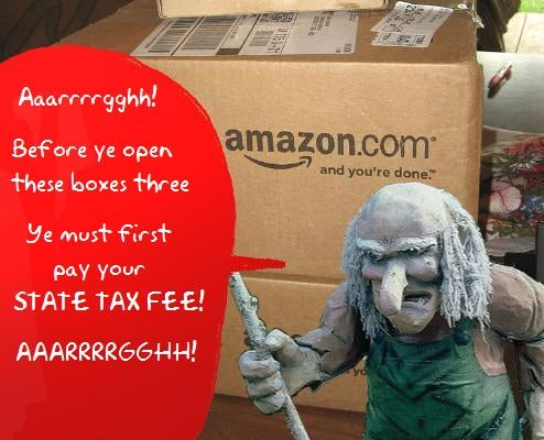 "No More Tax Free Online Purchases For New York With New ""Amazon Tax"" Bill"