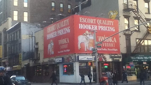 Gross Billboard Ensures that No One Will Drink Its Gross Vodka