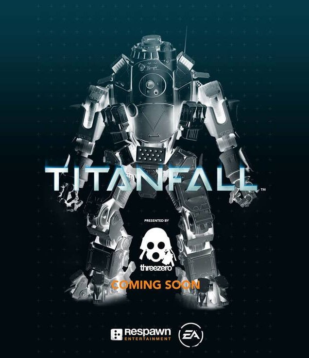 threezero toys is going to make Titanfall titans