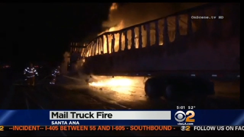 A US Postal Truck Exploded and Burned Hundreds of Thousands of Letters