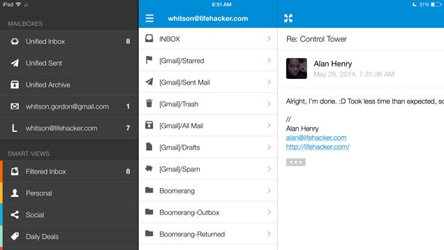 Inky's Simple, Auto-Sorting Email Client Comes to iOS