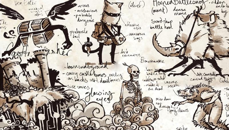 Seek forgotten songs in the hauntingly poetic story game Spell Saga