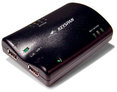 Keyspan USB 2.0 Server Brings WiFi, Ethernet to Your Favorite Two Devices
