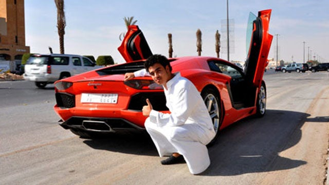 22 year old is first in his country with a Lamborghini Aventador