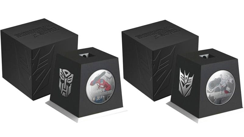 New Zealand Transformer Coins Feature Heros We Actually Care About