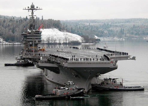 Golden Tee Joins the Navy, Ships Out on Supercarrier