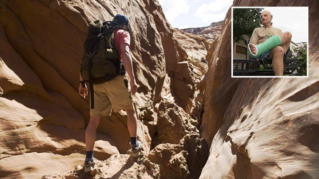 127 Hours Fan Retraces Aron Ralston's Steps, Survives 96 Hours After Leg-Shattering Fall