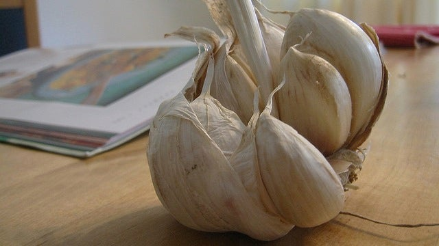 Microwave Garlic to Make It Even Easier to Peel