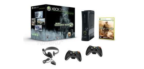 Microsoft Releasing 250GB Xbox 360 For Modern Warfare 2 [Update]