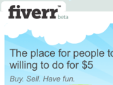 Fiverr Outsources Your Small Jobs for $5