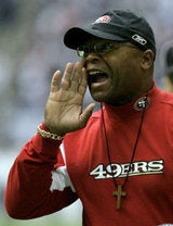 Mike Singletary Doesn't Handle Criticism Well