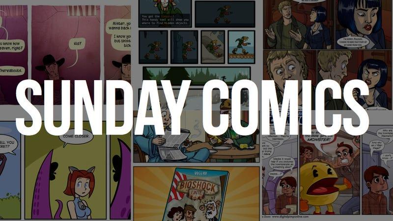 Sunday Comics: Infinite Variety