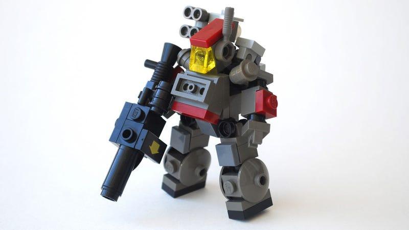 Как сделать лего звездные войны робота