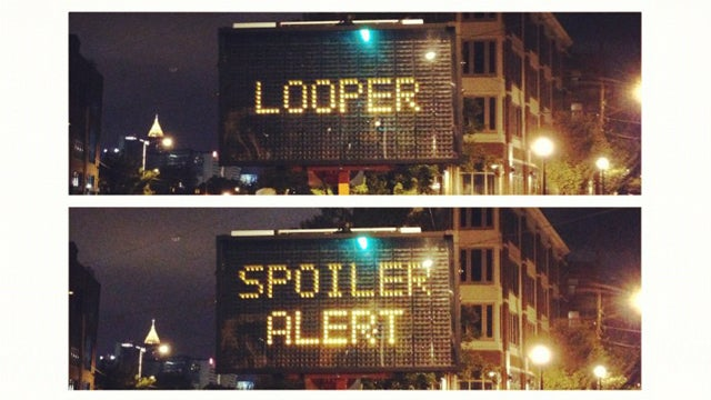 Artist Hacks Electronic Road Sign To Spoil Looper As A Commentary On Trolling