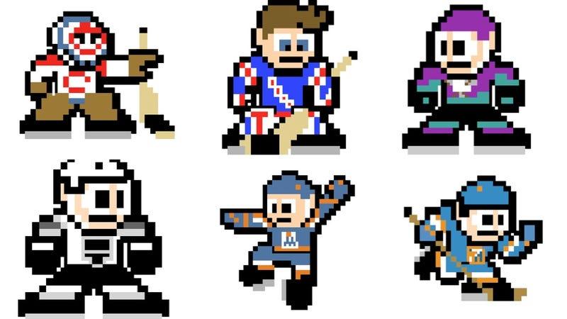 Every NHL Team As A Mega Man Sprite